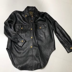 Other - Men's leather shirt